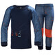 Helly Hansen Lifa Merino Set Kids evening blue, living coral